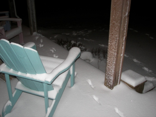 Our COVERED front porch.